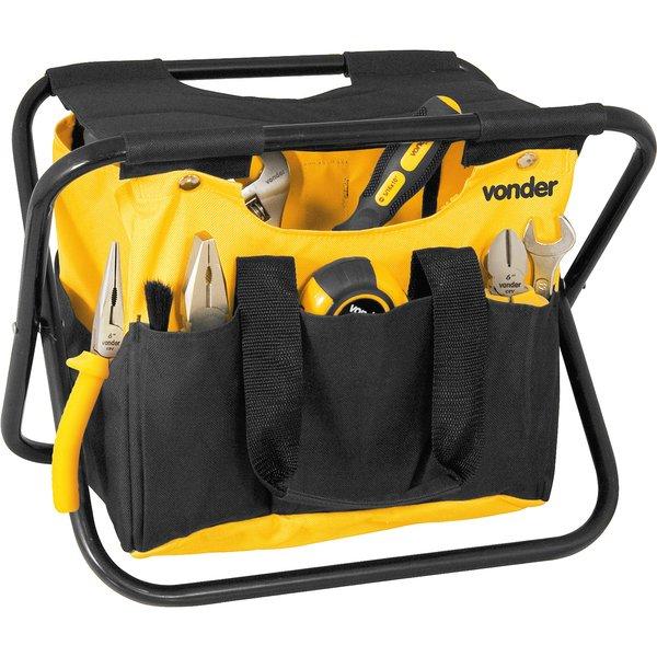 Bolsa De Lona Para Carregar Ferramentas : Banqueta porta ferramentas em lona mm maletas